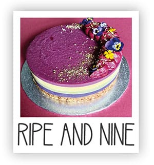 Ripe and Nine Vegan Cakes