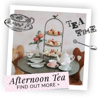 Afternoon Tea at Dotty's Teahouse