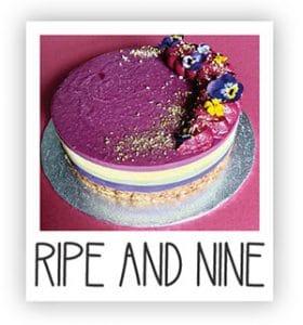 Ripe and Nine Vegan Cakes