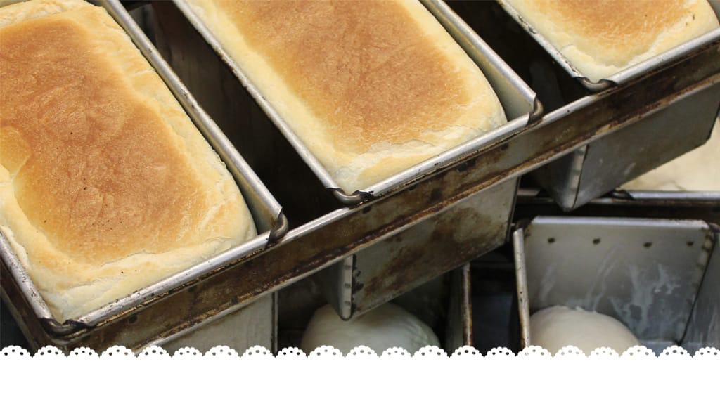Using our loaf! Making fresh bread…